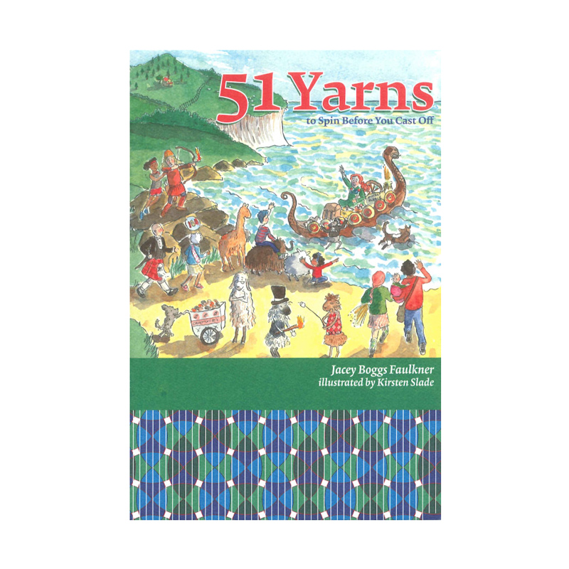 51 yarns (to Spin Before You Cast Off)