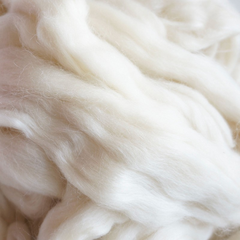 Bluefaced Leicester + mohair - tops, 250 gram